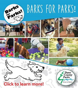 Barks for Parks. Join us for the fun!